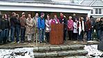 Families Gather To Address Public About Sandy Hook Vigil