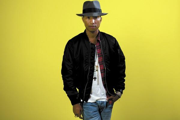 "Singer-songwriter and music producer Pharrell Williams produced the song ""Happy"" for the movie ""Despicable Me 2."""