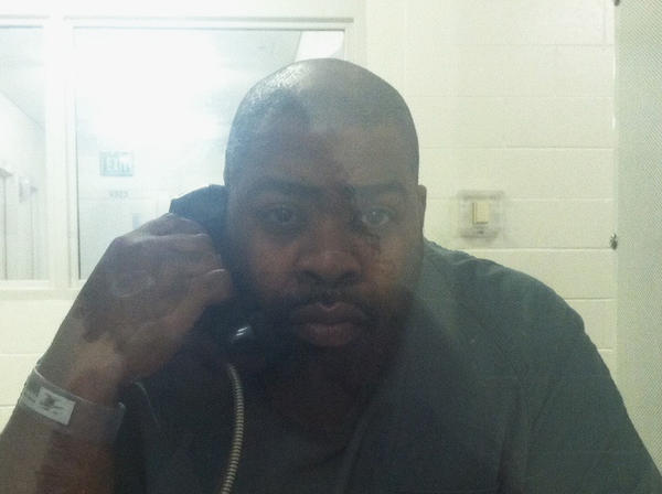 Anthony Brooks, who was charged by Hampton police with child neglect in connection to the death of his 14-year-old son, is pictured at the Hampton Roads Regional Jail in Portsmouth.