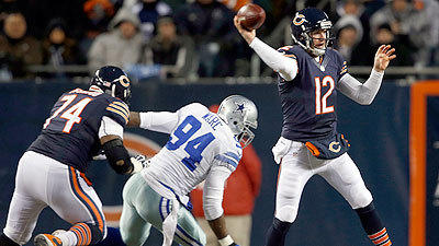 Halftime: Bears 24, Cowboys 14
