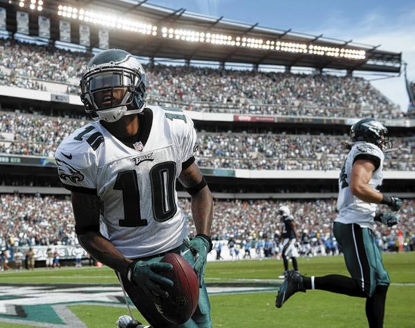 The Eagles have explosive wide receiver DeSean Jackson to keep defenses from focusing too much on LeSean McCoy.