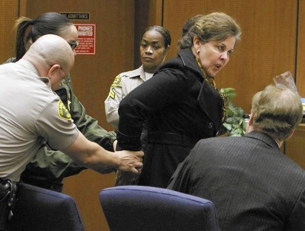 Angela Spaccia was found guilty on 11 out of 13 criminal charges in the Bell corruption case.