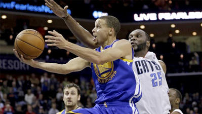 Stephen Curry's homecoming: 43 points, and a loss