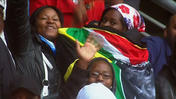 Raw: Singing, Dancing at Mandela Memorial