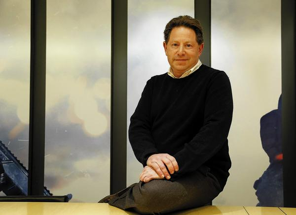 Bobby Kotick is CEO of Activision Blizzard. The company's challenges include addressing the rise of free multiplayer games, which rely on small purchases known as micro-transactions instead of a monthly subscription fee.