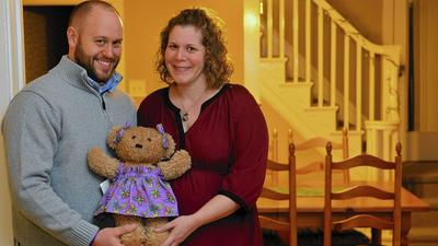 Allentown couple donate Molly Bears for other grieving couples
