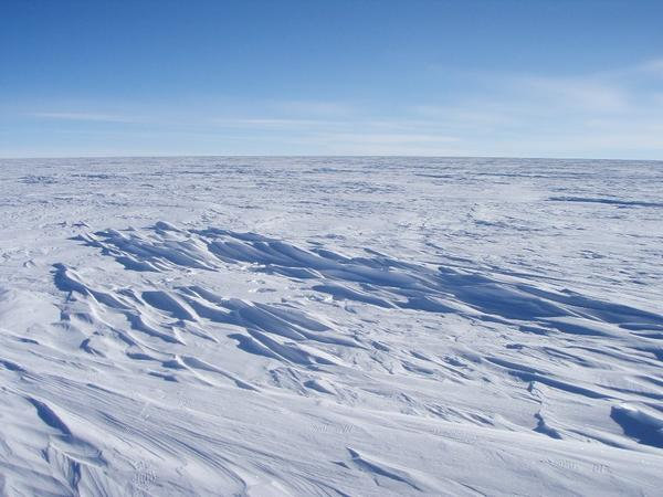 East Antarctica, where NASA satellite data showed a possible new record for the coldest temperature recorded.