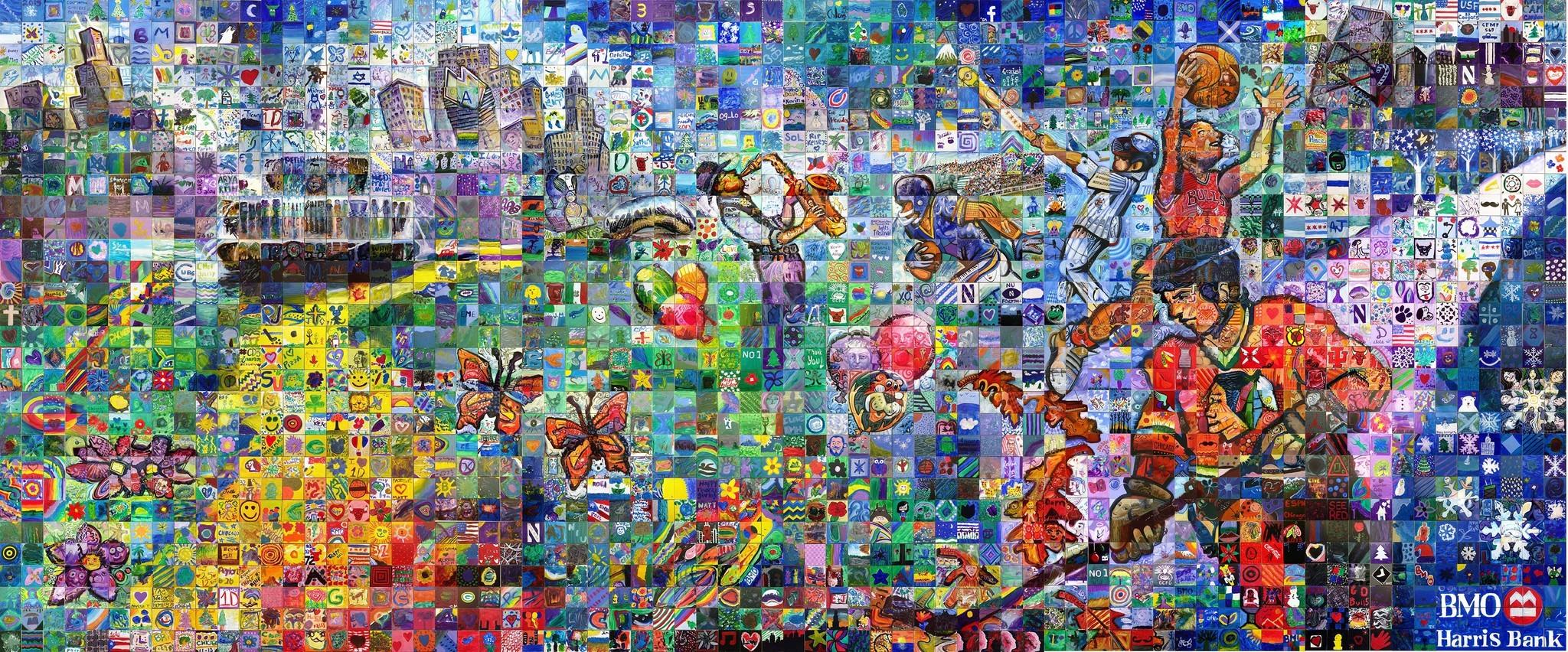 The BMO Harris Bank Community Art Project: Many Small ...