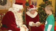 St. Michael School Welcomes Mr. and Mrs. Claus for Breakfast