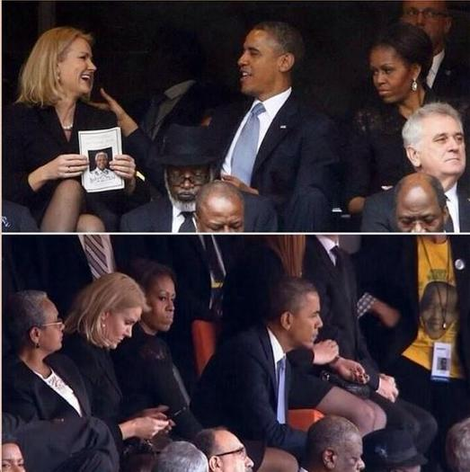 Obama latest to indulge in 'funeral selfie' trend ...