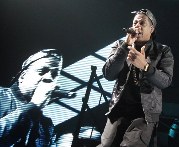 Jay Z performs Monday night at Staples Center.