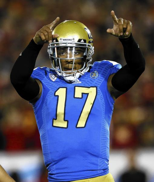 UCLA quarterback Brett Hundley and the Bruins face Virginia Tech on Dec. 31 in the Sun Bowl in El Paso, Texas