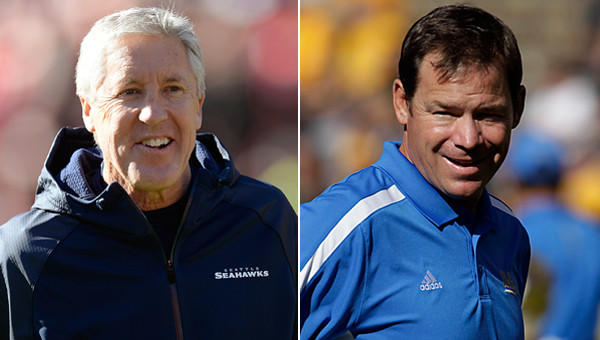 Pete Carroll, Jim Mora