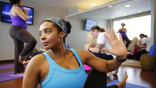 Yoga room opens at O'Hare
