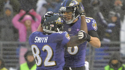 Season-saver or not, Sunday's finale was a moment of magic for the Ravens