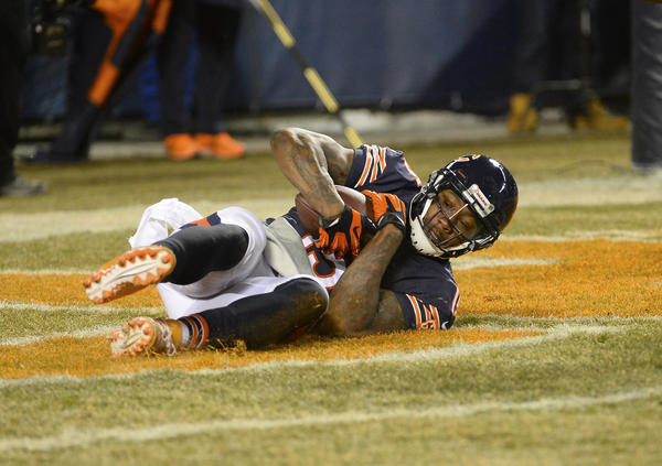 Bears wide receiver Brandon Marshall gave some credit to the cold for a victory over the Cowboys.
