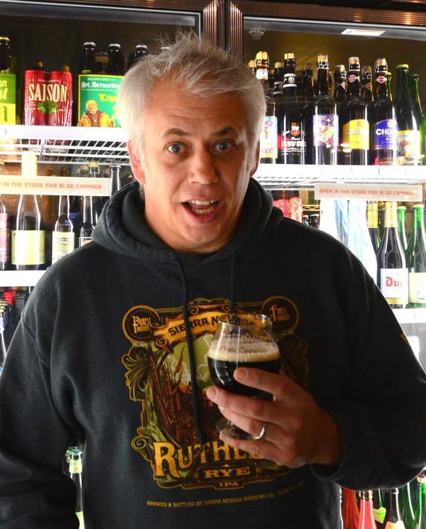 Select Beer Store owner Wes Jacobs