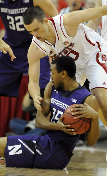 Former walk-on James Montgomery III is playing a bigger role for Northwestern.