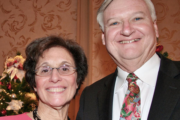 Debbie and Bruce Hinckley were VIP guests at the Assistance League's Festival of Trees.