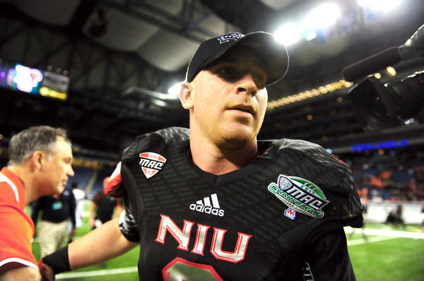 Northern Illinois quarterback Jordan Lynch has gained exposure for his school and conference.