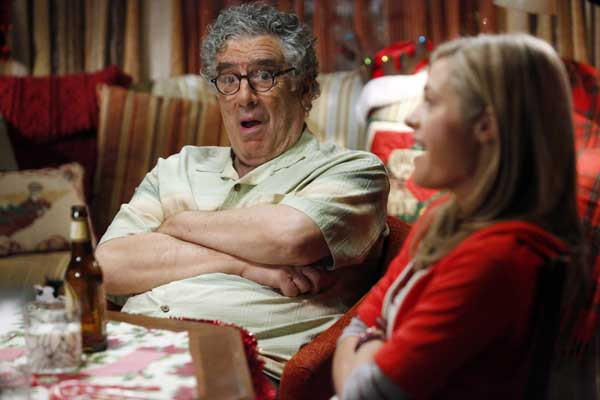 "A poker game could ruin Christmas on ""Back in the Game"" on ABC, with Elliott Gould and Maggie Lawson."