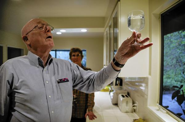 In Sierra Madre The Yellow Tap Water Is A Turnoff Latimes