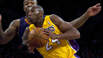 Kobe Bryant improves to a B, but Lakers have no D