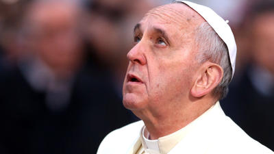 Pope Francis named Time Magazine 'Person of the Year'