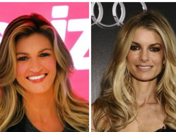 Erin Andrews and Marisa Miller
