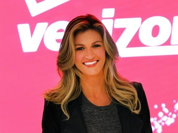 "Erin Andrews Unveils ""Get Fit"" Zone at New Verizon Destination Store on Nov. 21, 2013 at the Mall of America in Bloomington, Minnesota."