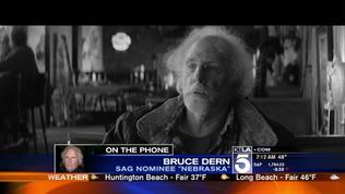 Bruce Dern Shares His Excitment with Sam on His SAG Nomination
