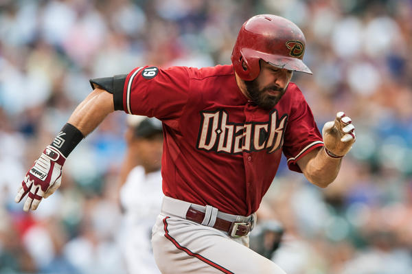 Adam Eaton became known for his hustle during his days with the Diamondbacks.