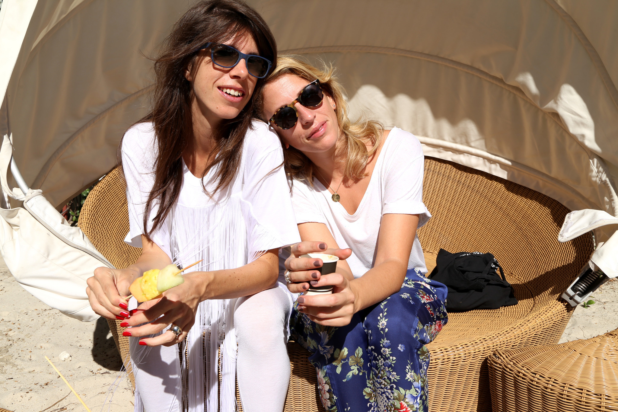 PHOTOS: The fashionistas of Art Basel - Aurelia Musumeci Greco and Celeste Morini