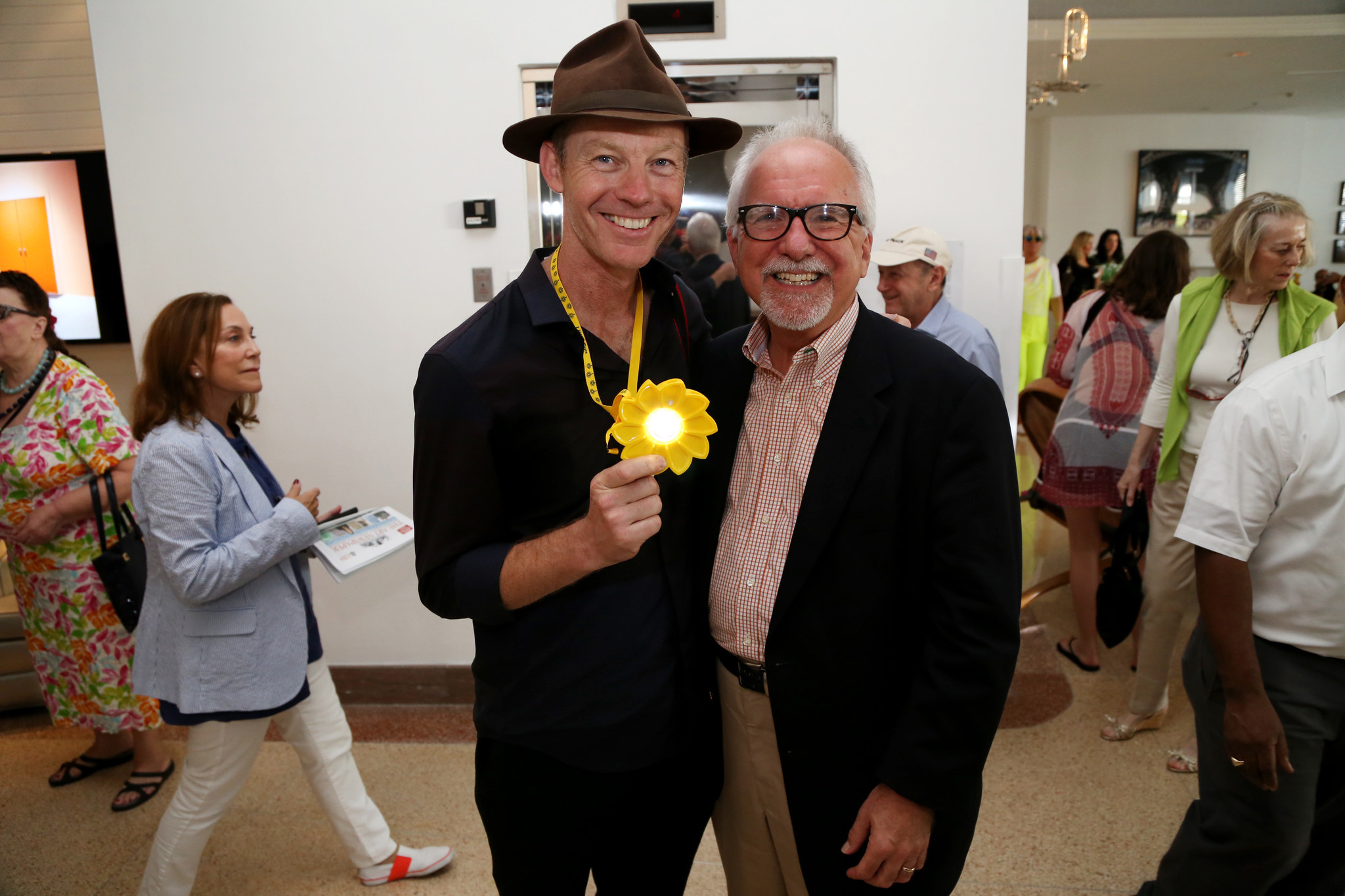 PHOTOS: The fashionistas of Art Basel - Robin Hill and John Hanhardt
