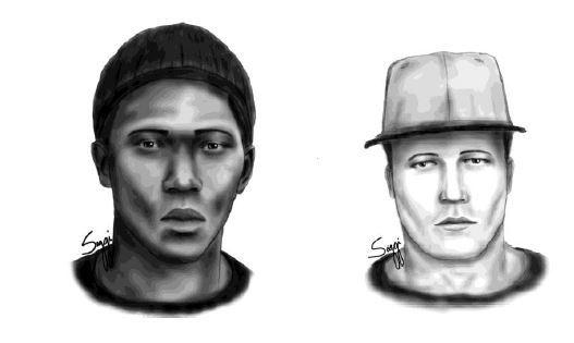 Orlando police released composite images of two armed men who forced their way into an apartment and shot a resident during a robbery earlier this month. The home invaders attacked early Dec. 2 at Walden Palms Apartments.