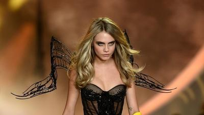 Victoria's Secret Fashion Show: Cara Delevingne's twerking video