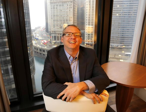 'Anchorman 2' director Adam McKay at the Langham Hotel