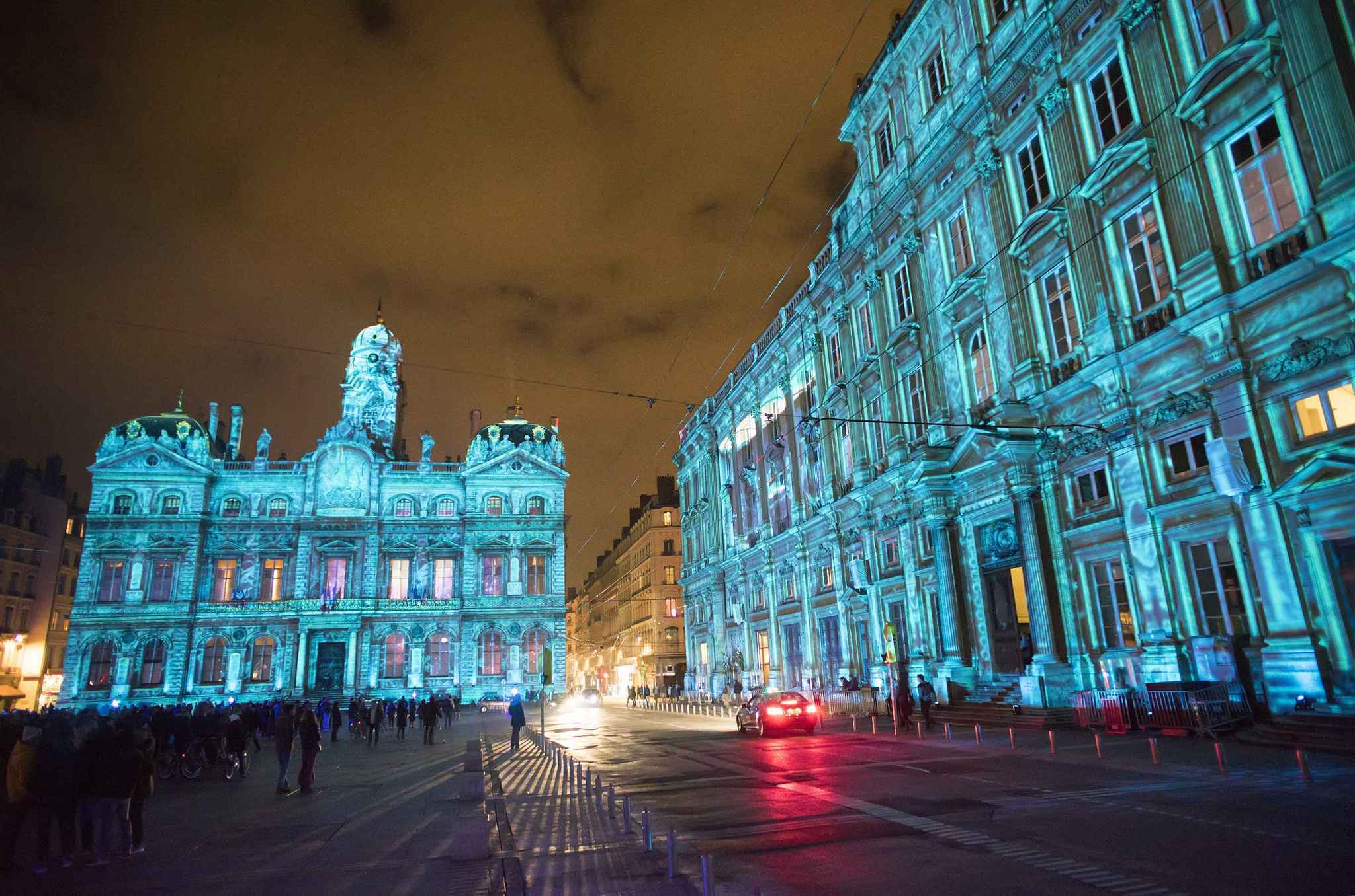 Pictures: Holiday lights from around the globe - Festival of Lights in central Lyon, France