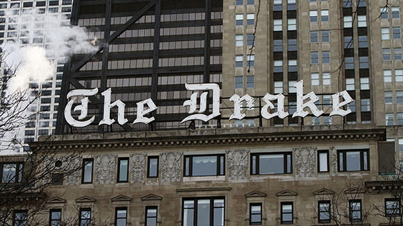 The Drake Hotel, which is owned by Hilton.