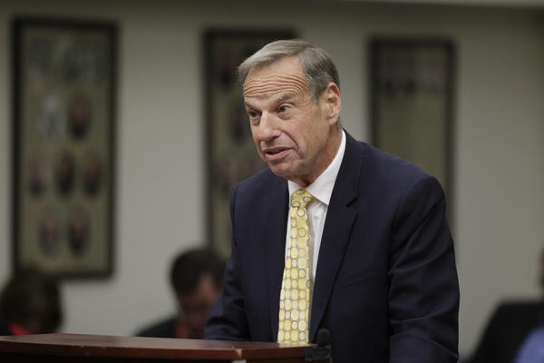 Former San Diego Mayor Bob Filner, shown during Monday's sentencing on one felony and two misdemeanor counts of mistreating women, is the target of a second sexual harassment lawsuit.
