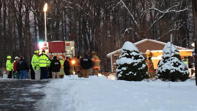 Man trapped, killed in Harford barn collapse