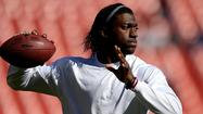 Redskins' Mike Shanahan shuts down Robert Griffin III for the season