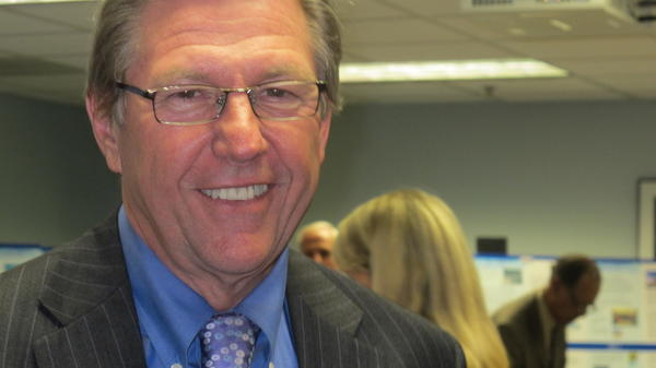 Broward Commissioner John Rodstrom was in politics for three decades