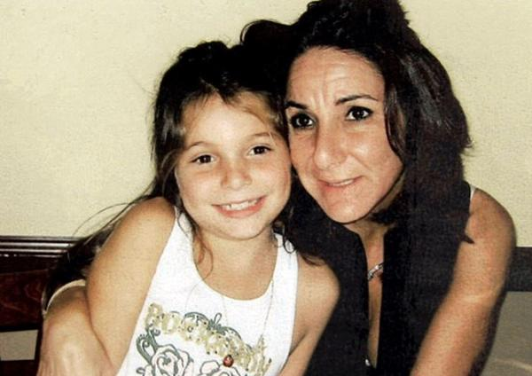 This undated family photo shows Nancy Bochicchio and her seven-year-old daughter, Joey. The mother and child were bound, shot point blank in the head and left in the parking of a Boca Raton, Fla. shopping center in Dec. 2007.