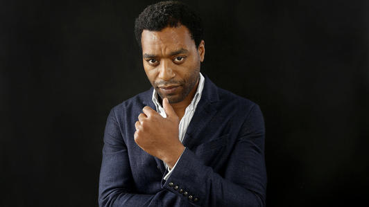 "Chiwetel Ejiofor of the movie ""12 Years a Slave,"" at Shutters on the Beach in Santa Monica."