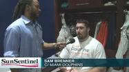 1st and 10 with Dolphins' Sam Brenner