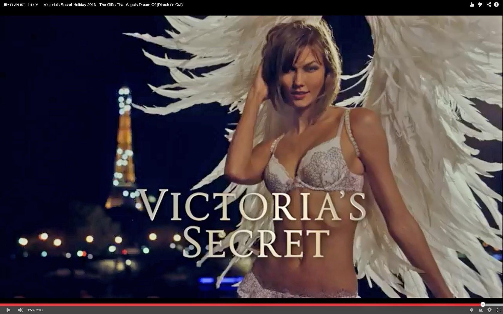 Watch extended cut of victoria 39 s secret models 39 paris for Secret paris
