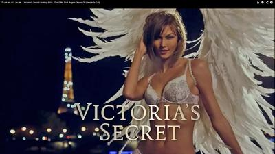 Watch extended cut of Victoria's Secret models' Paris commercial