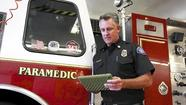 Firefighters using iPads to relay patient information