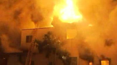 Two dead, 25 evacuated in Echo Park apartment fire